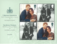Great Britain - Royal Wedding - Mint souvenir sheet