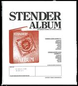Stender løsblade - superb blankoblade - Sort ramme50 stk.