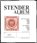 Stender løsblade - 020 blankoblade nettryk - Gul 50 stk.