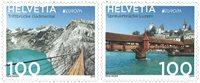 Schweiz - Europa Broer - Postfrisk sæt 2v
