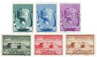 Belgien 1940 - OBP532-37 - Stemplet