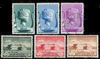 Belgique 1940 - OBP 532-37 - Obl.