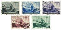 Belgien 1938 - OBP 466-70 - Stemplet
