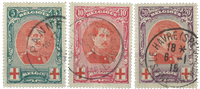 Belgien  - OBP 132-34 - Stemplet