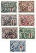 Belgien 1934 - OBP 394-400 - Stemplet
