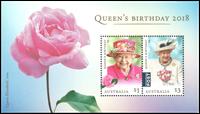 Australie - L'anniversaire de la Reine - Bloc-feuillet neuf