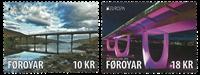 Faroe Islands - Europa 2018 / Bridges - Mint set 2v