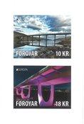 Færøerne - Europa 2018 / Broer - Postfrisk selvkl. sæt 2v