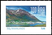 Island - Siglufjördur 100 år - Postfrisk frimærke