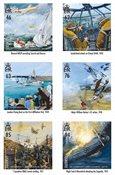 外国邮票 根西岛邮票 2018 新邮 皇家空军100 - 201 根西岛空军 - 新票套票6枚