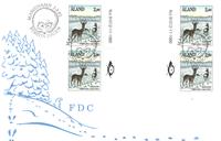 Åland 1991 - FDC med gutterpair / Firblok-  LAPE nr. 46
