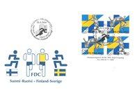 Finland 1994 - FDC - Firblok - LAPE nr. 1261-62