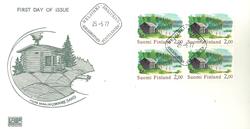 Finland 1977 - FDC - Firblok - LAPE nr. 809