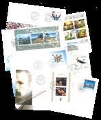 Estland 2001 - FDC - LAPE nr. 390-425