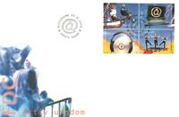 Åland 1998 - FDC - LAPE nr. 136-139