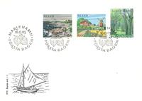 Åland 1985 - FDC - LAPE nr. 11-13