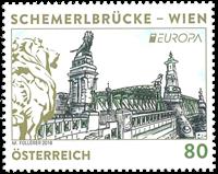 Autriche - Europa 2018 - Timbre neuf