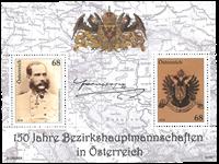 Autriche - Franz Joseph - Bloc-feuillet neuf