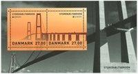 Danmark - Europa Storebæltsbroen - Postfrisk miniark