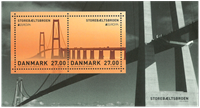 Denmark - Europa 2018 / Bridges - Mint souvenir sheet