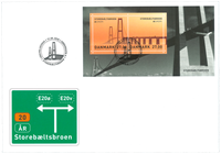 Denmark - Europa 2018 / Bridges - First Day Cover with SS