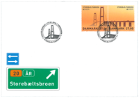 Denmark - Europa 2018 - Bridges - First Day Cover with stamps