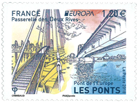 France - Europa 2018 - Ponts - Timbre neuf