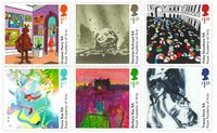 外国邮票 英国邮票 2018 新邮 皇家艺术学院成立250周年纪念邮票 - 新票套票6枚