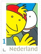 Netherlands - Fokke + Sukke, comic strip - Mint stamp, national