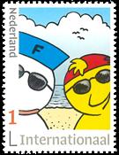 Netherlands - Fokke + Sukke, comic strip - Mint stamp, international