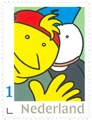Holland - Fokke og Sukke - Postfrisk frimærke