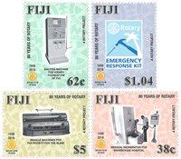 Fiji - Rotary - Postfrisk sæt 4v