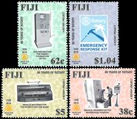 Îles Fidji - Club Rotary - Série neuve 4v
