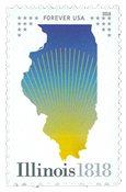 Etats-Unis - L'Etat Illinois - Timbre neuf