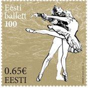 Estonie - Ballet - Timbre neuf