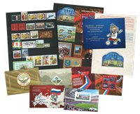 Rusland - 2017 første halvår - 2017 første halvår med abonnement: 28 frimærker, 7 miniark, 3 hæfter, 1 min