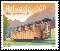 Suisse - Chemins de fer Stanserhorn - Timbre neuf