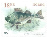Norway - Nordic fish - Mint stamp engraved by Martin Mörck