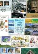 Gibilterra - lotto di buste primo giorno, presentation pack ecc.