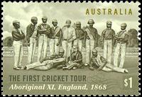 Australie - Tour de Cricket - Timbre neuf