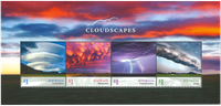 Australien - Skyformationer - Postfrisk miniark