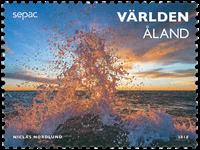 Åland - Sepac 2018 - Postfrisk frimærke