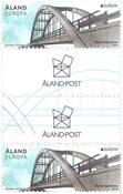 Åland - Europa broer - Gutterpair postfrisk
