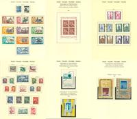 Polen - Stemplet samling 1950-70