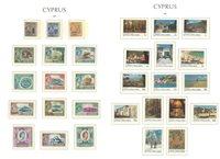 Chypre - Collection en album Leuchtturm, avec pochettes et étui