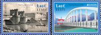 Estland - Europa 2018 Broer - Postfrisk sæt 2v