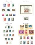 Belgien - Stemplet samling