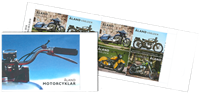 Åland Islands - Motorcycles - Mint booklet