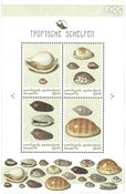Bonaire - Sea shells - Mint souvenir sheet