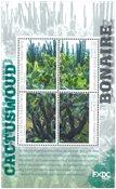 Bonaire - Kaktusskoven - Postfrisk miniark